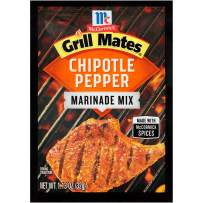 McCormick Grill Mates Chipotle Pepper Marinade Mix, 1.13 oz (Pack of 12)