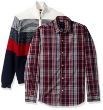 Nautica Boys' Big Two Piece Sweater Set