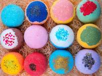 12 Bath Bombs For Kids All Natural Colorful Bath Bomb Kit - Safe for Sensitive Skin - Relaxing Bath Bombs For Girls and Boys - Best Gift Set For Kids - Made in USA