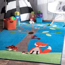 "nuLOOM Clora Playtime Kids Rug, 6' 7"" x 9', Multi"
