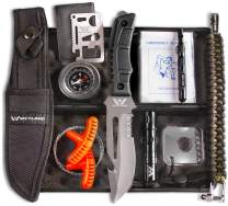 WEYLAND Outdoor Tactical Survival Kit - Emergency Survival Gear and Equipment Pack Essentials Tools for Outdoorsman Hiking Bugout Bag Camping Backpacking Hunting and Personal EDC Wilderness Bags