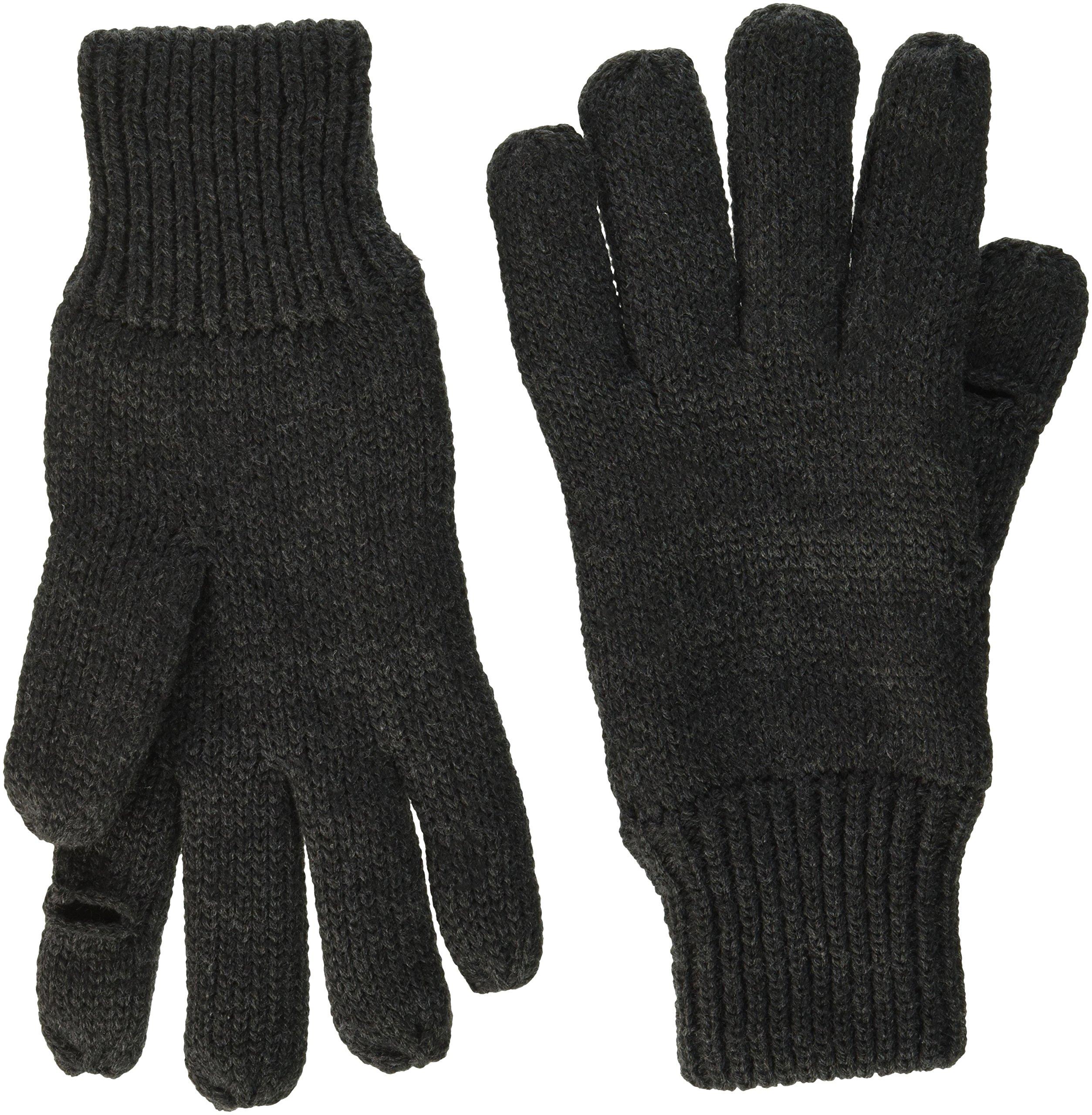 Dockers Men's Fleece Glove, Black, Large