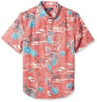 Reyn Spooner Men's Chinese New Year Spooner Kloth Tailored Fit Hawaiian Shirt