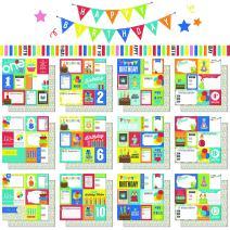 Scrapbook Customs Themed Paper Scrapbook Kit, 1st-12th Birthday