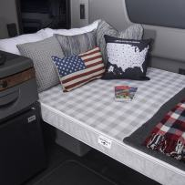 MOBILE INNERSPACE 4-inch Truck Sleep Firm Support Mattress - 78L x 24W