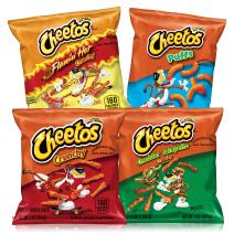 Cheetos Cheese Flavored Snacks Variety Pack, 40 Count