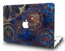 "LuvCase Laptop Case for Old MacBook Pro 13"" Retina Display (2015/2014/2013/2012 Release) A1502/A1425 Rubberized Plastic Hard Shell Cover (Bohemian Pattern)"