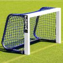 Forza Mini Field Hockey Goals – 3ft x 2ft Weatherproof Field Hockey Target Goal | Black Or Blue Net