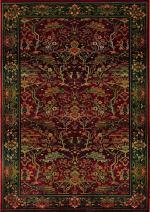 Oriental Weavers Kharma 465R4 Area Rug, 8', Red