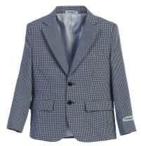 Gioberti Boys and Kids Houndstooth Blazer Jacket