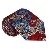 Twenty Dollar Tie Men's Finest Paisley Tie Pocket Square Cuff-links Set