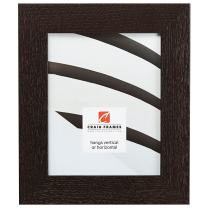 Craig Frames 80598967 14 by 20-Inch Picture Frame, Solid Oak, Heavy Wood Grain, 2-Inch Wide, Black Oak