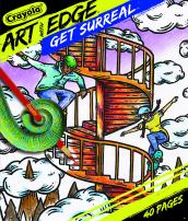 Crayola Get Surreal Coloring, Teen & Adult Coloring, 40 Pages