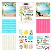 Scrapbook Customs Cozumel Getaway Scrapbook Kit