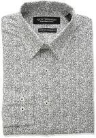 Nick Graham Men's Vine Print Stretch Dress Shirt