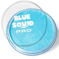 Blue Squid PRO Face Paint - Classic Light Blue (30gm), Superior Quality Professional Water Based Single Cake, Face & Body Makeup Supplies for Adults, Kids & SFX