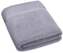 Pinzon Heavyweight Luxury Cotton Large Towel Bath Sheet - 70 x 40 Inch, Platinum