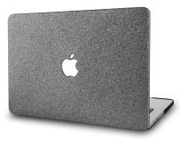 """KECC Laptop Case for MacBook Air 13"""" Plastic Case Hard Shell Cover A1466/A1369 (Grey Sparkling)"""