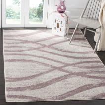 "Safavieh Adirondack Collection ADR125L Cream and Purple Modern Area Rug (5'1"" x 7'6"")"