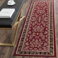 "Safavieh Lyndhurst Collection LNH331B Traditional Oriental Red and Black Runner (2'3"" x 10')"