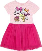 JoJo Siwa Girls' Tutu Dress with Tulle Skirt - Nickelodeon