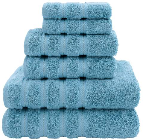 American Soft Linen Luxury Hotel /& Spa Quality Black Turkish Cotton Dry Quickly 27x54 Inches 4-Piece Bath Towel Set for Maximum Softness /& Absorbency