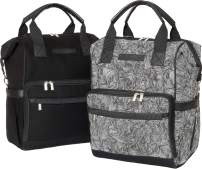"""Luxury Baby Diaper Bag Backpacks Matching Set with Waterproof Changing Mats, Stroller Straps, and 15 Compartments Each