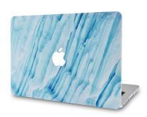 "LuvCaseLaptopCaseforOld MacBook Pro 13"" (CD Drive, 2008-2012) A1278RubberizedPlasticHardShellCover (Blue Marble 2)"