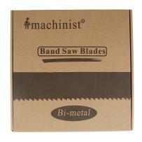 """Imachinist S122341014 M42 122"""" X 3/4"""" X 10/14tpi Bi-metal Metal Cutting Band Saw Blades"""