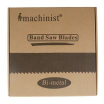 """Imachinist S112341014 M42 112"""" X 3/4"""" X 10/14tpi Bi-metal Metal Cutting Band Saw Blades"""