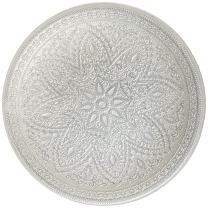 ChargeIt! By Jay Divine Charger Plate, Silver