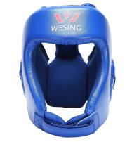 wesing Professional Boxing Muay Thai Martial Arts Training Sparing Headgear Without Cheeks