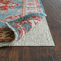 "RUGPADUSA, Nature's Grip, 2'x4', 1/16"" Thick, Rubber and Jute, Eco-Friendly Non-Slip Rug Pad, Safe for your Floors and your Family, Many Custom Sizes"