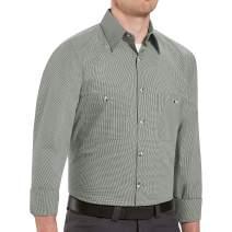 Red Kap Men's RK Micro Check Uniform Shirt