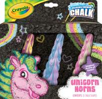 Crayola Unicorn Rainbow Sidewalk Chalk, 3Count, Unicorn Toy, Styles Vary, Gift for Kids, Age 4, 5, 6, 7