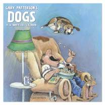 "2021 Gary Patterson's Dogs Wall Calendar, 12"" x 12"", Monthly (DDW3092821)"