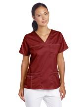 Dickies Women's GenFlex Junior-fit V-Neck Scrub Shirt