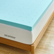 HOFISH 3 Inches Gel Infused Memory Foam Mattress Queen, 2018-3Inches Topper
