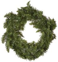 Vickerman Unlit Frosted Bellevue Alpine Artificial Christmas Wreath, 20-Inch