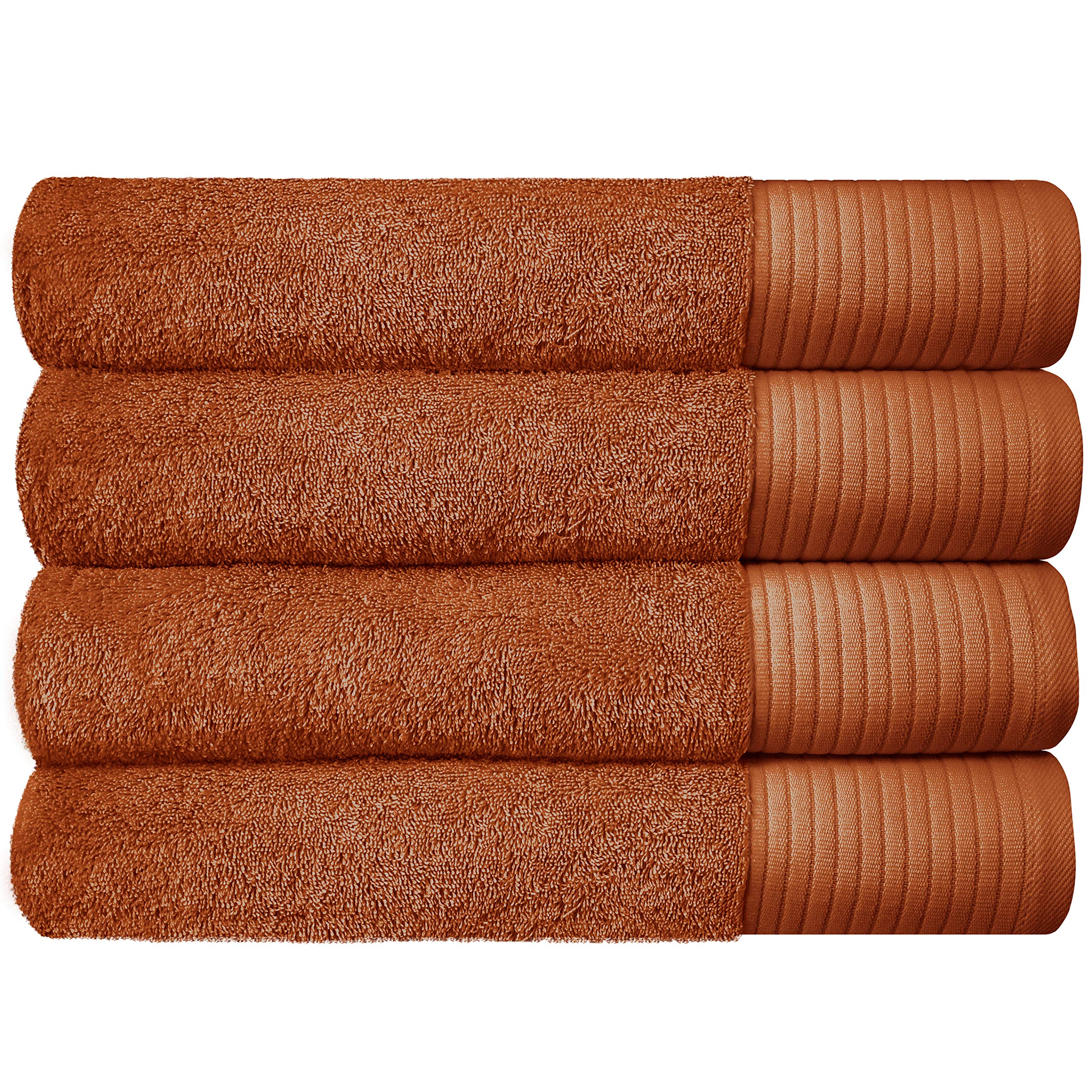 """Set of 4 - JINAMART Luxury Soft Bath Towels