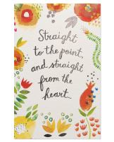 American Greetings Colorful Floral Mother's Day Greeting Card for Grandma with Glitter