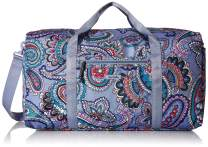 Vera Bradley Women's Lighten Up Large Travel Duffle Bag