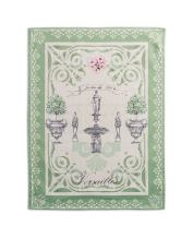 Maison d' Hermine Jardin Du Roy 100% Cotton Set of 2 Multi-Purpose Kitchen Towel Soft Absorbent Dish Towels | Tea Towels | Bar Towels (20 Inch by 27.50 Inch)