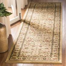 """Safavieh Lyndhurst Collection LNH212D Traditional Oriental Non-Shedding Stain Resistant Living Room Bedroom Runner, 2'3"""" x 14' , Beige / Ivory"""