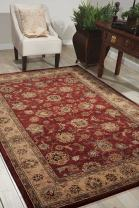 """Nourison Nourison 2000 (2203) Brick Rectangle Area Rug, 3-Feet 9-Inches by 5-Feet 9-Inches (3'9"""" x 5'9"""")"""