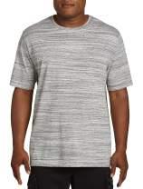 Harbor Bay Grey Space-Dyed No-Pocket Tee Shirt