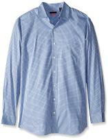 Van Heusen Men's Big and Tall Traveler Stretch Long Sleeve Button Down Non Iron Shirt