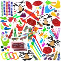 Smart Novalty Party Favors for Kids – 100 Pack – Toy Assortment, Treasure Box, School Classroom Rewards, Birthday Party Favor Bags, Carnival Prizes, Pinata Fillers Small Toys,