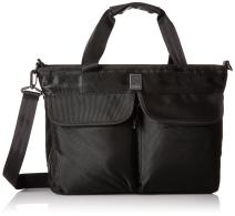 Chrome Juno Travel Tote 2-in-1 Bag Laptop Briefcase 4 Liter Black