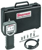 Digital Force Gage, 110 lbf Capacity, 0.2% Full Scale Accuracy, RS232 and USB Communications